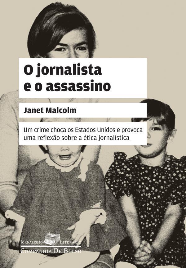 Capa do livro de Janet Malcolm.