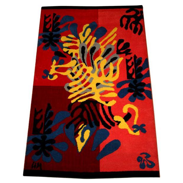 Tapete assinado por Henri Matisse.