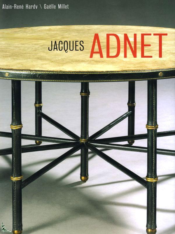 Jacques Adnet, livro.