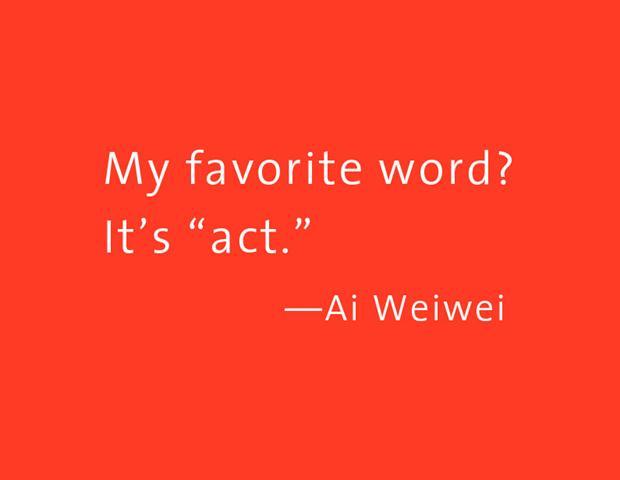 Weiwei-Act