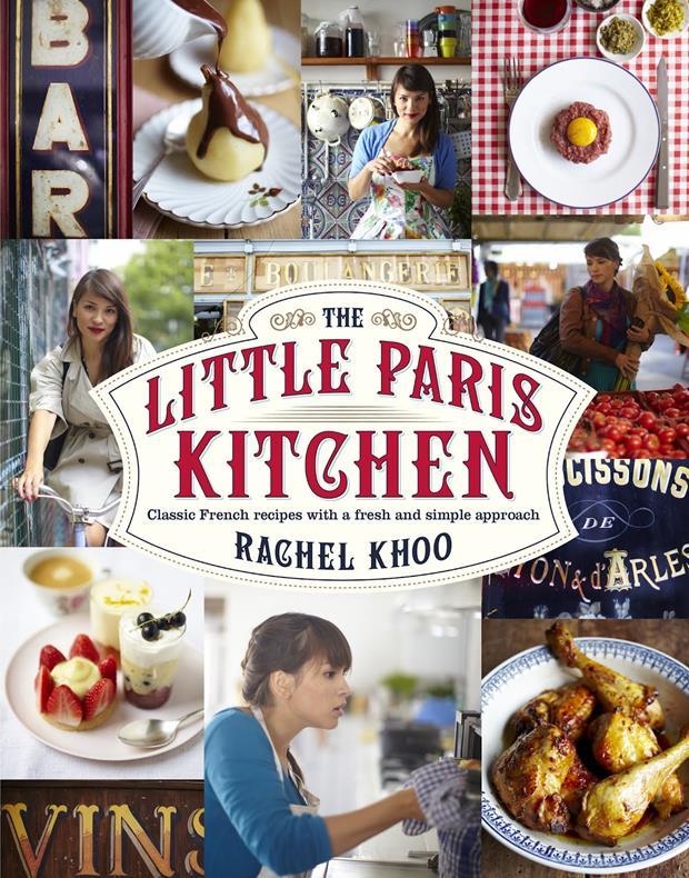 Capa do ótimo livro de Rachel Khoo.
