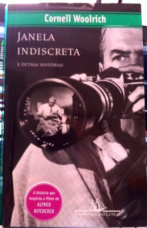 Capa do livro Janela indiscreta e outras histórias.