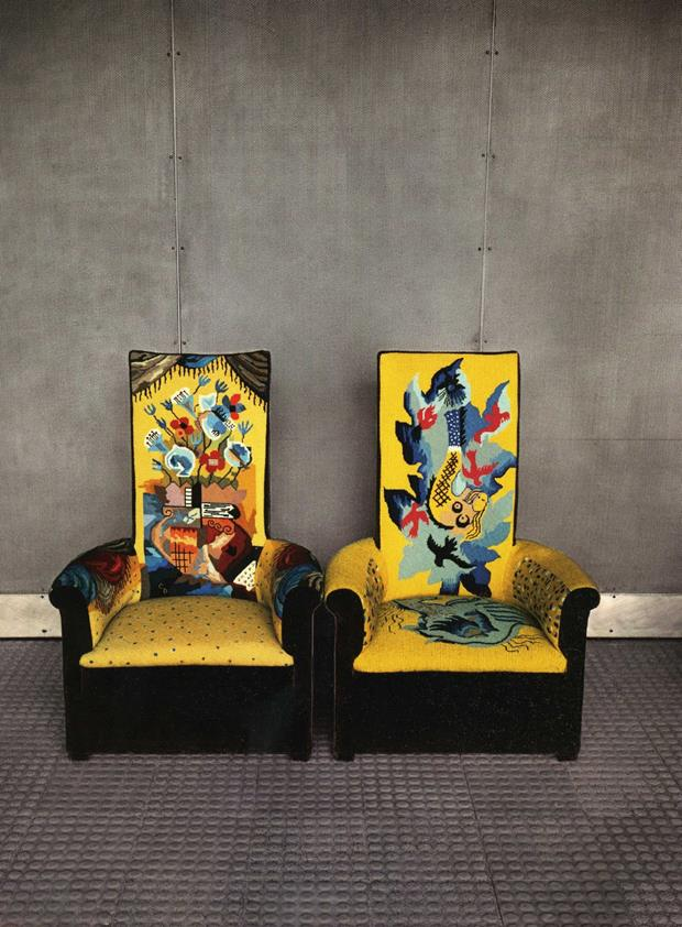 pierre EvelynHofer+TwoChairsAtMaisonDeVerre-Paris+1982 (Copy)