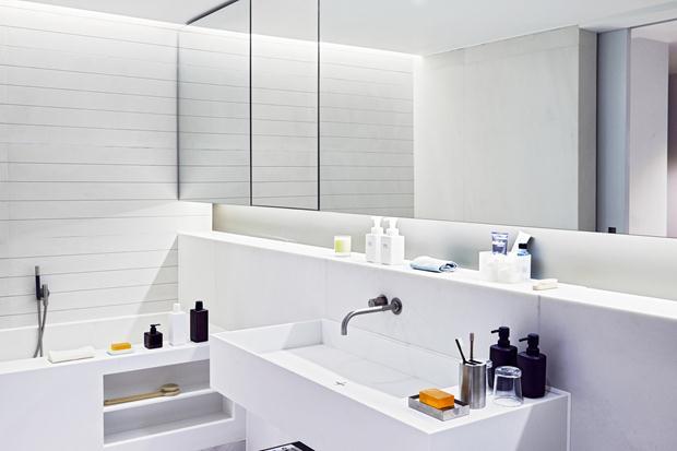 rrere -> Armario De Banheiro Embutido Com Espelho