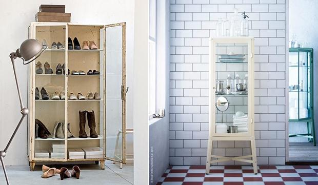 Como usar a cristaleira antiga, pergunta de Marisa Lima  Hardecor # Armario De Banheiro Joli