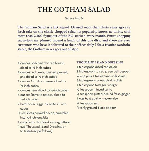 the gothamsalad01_Bergdorf-Goodman-Cookbook-sample1