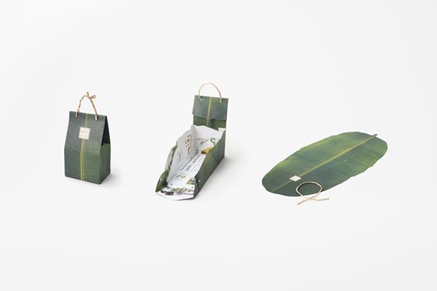 """Embalagem bacanérrima desenvolvida pelo escritório """"nendo"""" de Oki Sato."""