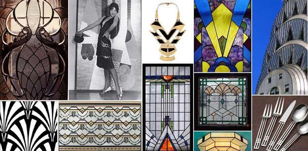 O movimento art déco inspirou o design e a moda de maneira intensa.