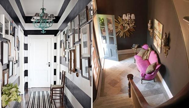 hall geometric-hallway-interior