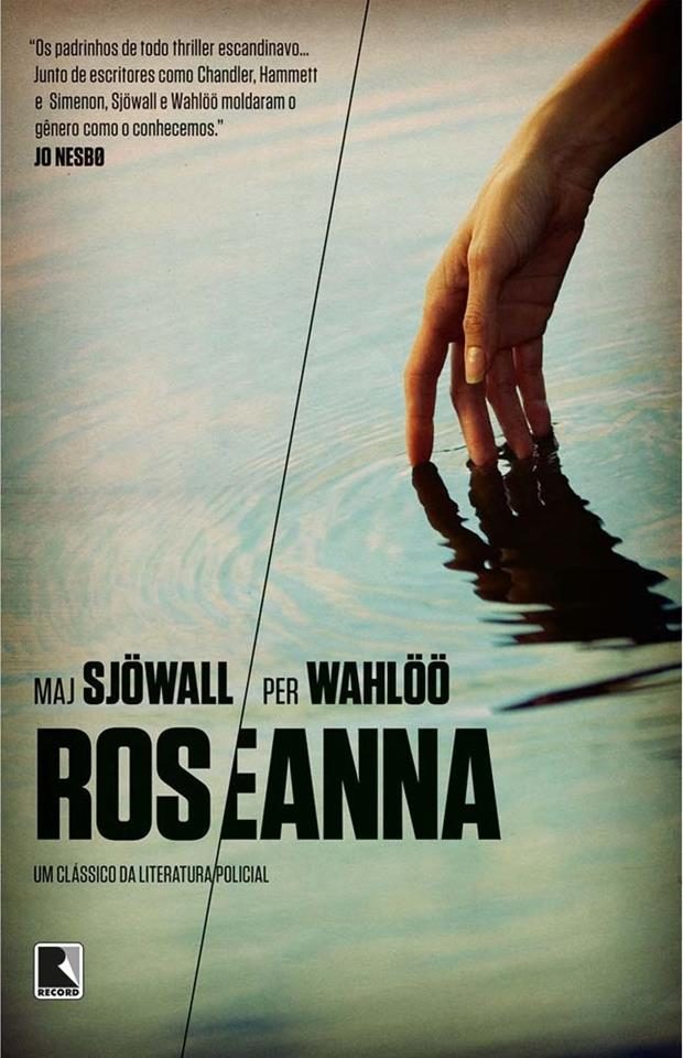 Capa do livro Roseanna, do casal sueco