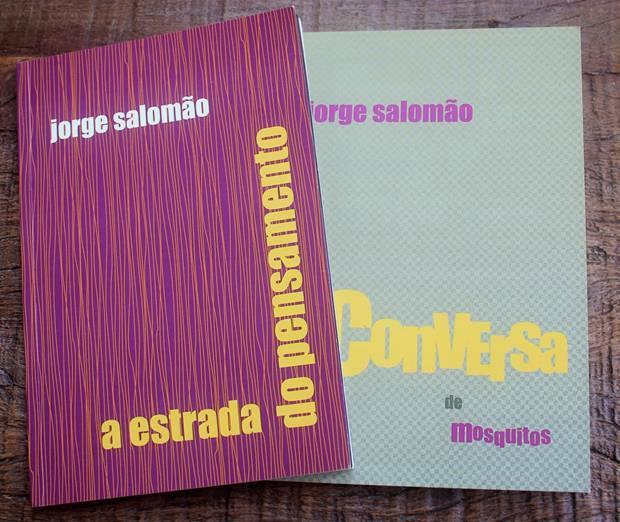 Capas dos livros de Jorge Salomão.
