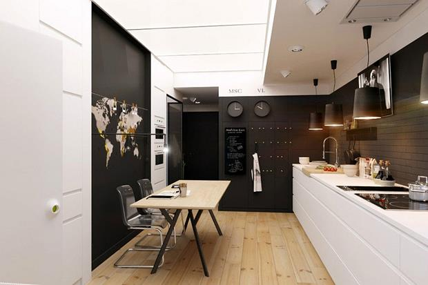 w Kitchen-and-dining-area-in-black-and-white (Copy)