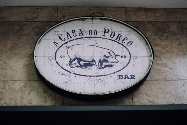 A Casa do Porco, em São Paulo.