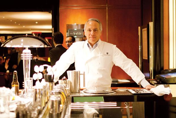 Geoffrey Zakarian, chef e proprietário do The Lambs Club.