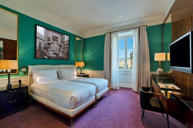 jk rome room green