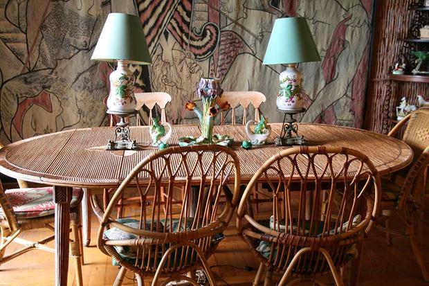 madeleine castaing Santo-Sospir-Dining-Room