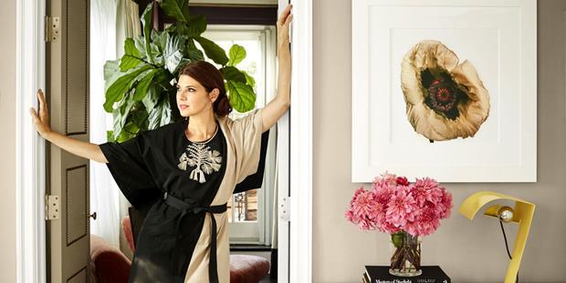 A atriz Marisa Tomei apresenta seu apartamento em Manhattan.
