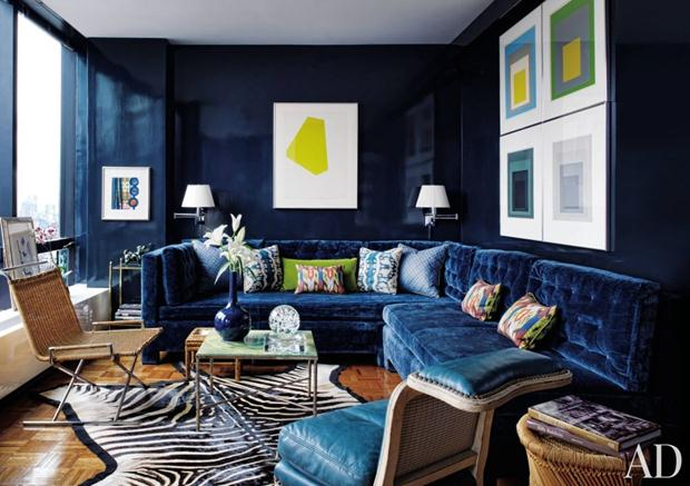 veludo contemporary-living-room-with-blue-sofa-todd-alexander-romano-new-york