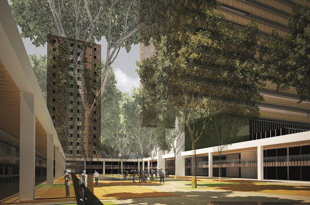 Complexo Multiuso Luz, um dos projetos destacados no livro.