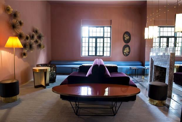 Fiquei totalmente in love com este lounge.