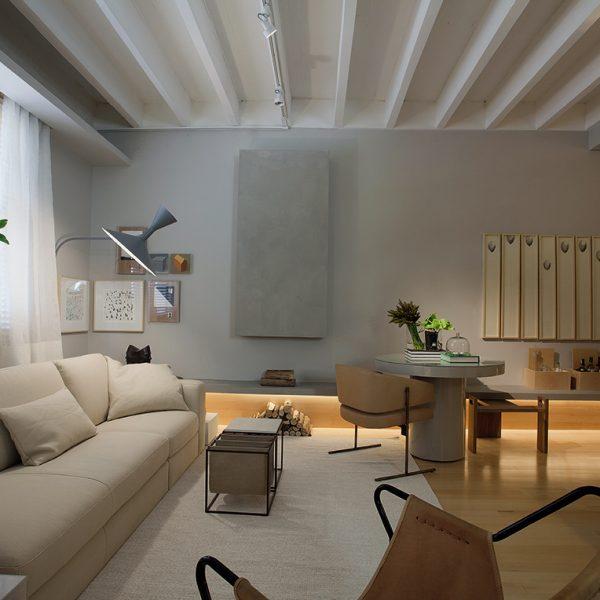 A jabuticabeira batiza o espaço, super bacana, do arquiteto Nildo José.
