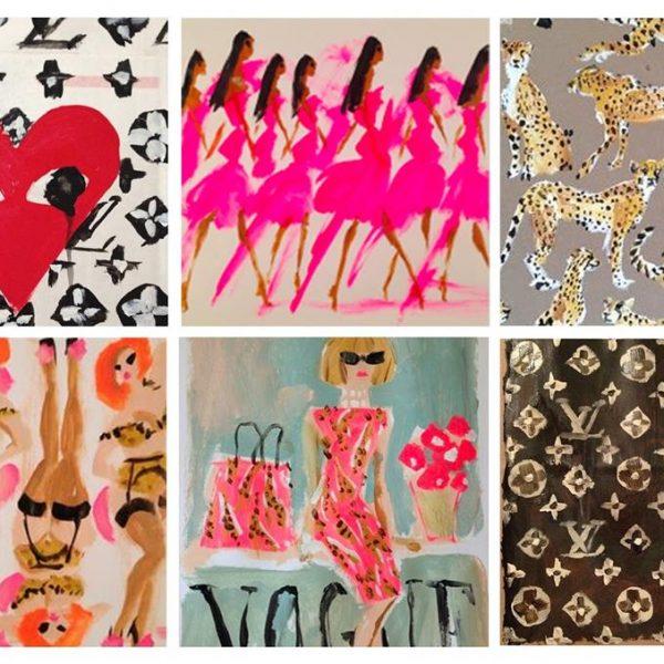 O ilustrador/artista tem grandes marcas, como Dior e Louis Vuitton entre seus clientes.