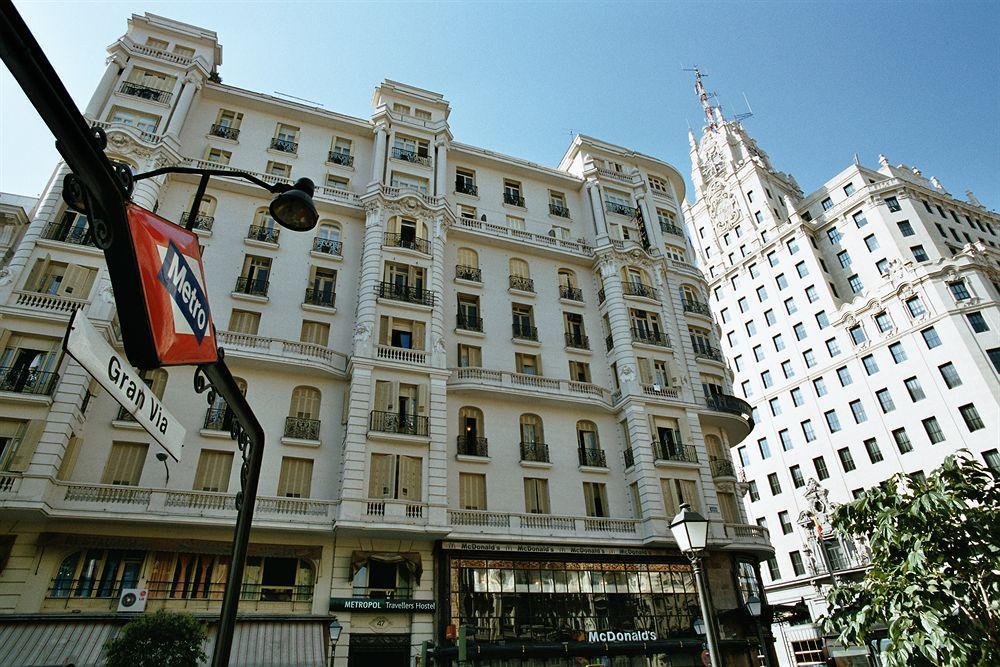 Fachada do Hotel Praktik Metropol, em Madri.