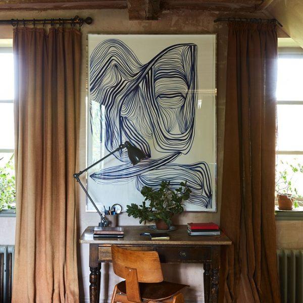 A obra de Tanya Ling é uma das mais recentes aquisições da família.