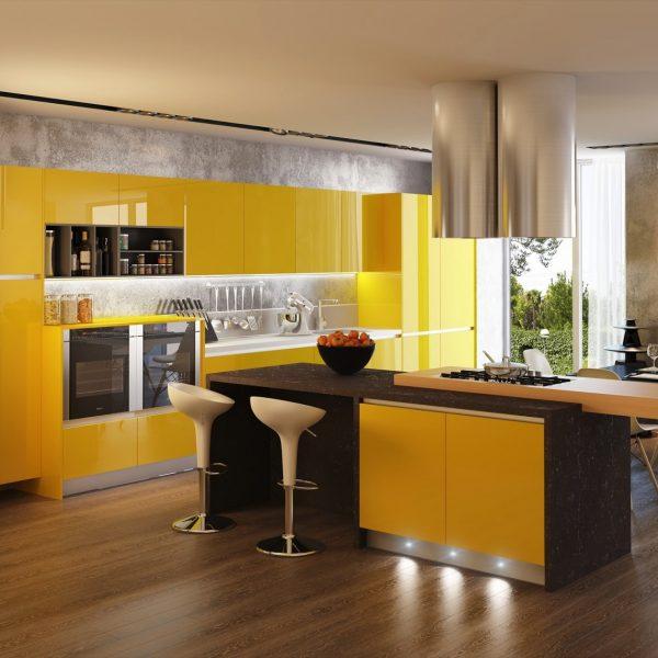 Toda na sua cor preferida, cozinha de alta octanagem!
