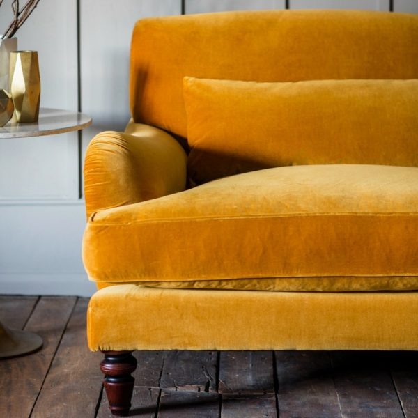 ocre velvet_three_seater_sofa_3