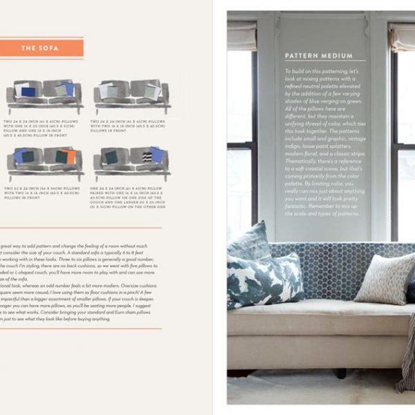 Uma das páginas internas do livro da designer, que também comercializa sua arte. Veja o link do site no final do post.