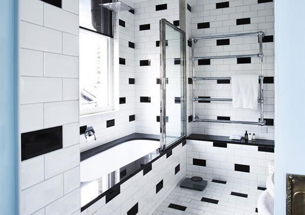 O banheiro, maravilhoso.