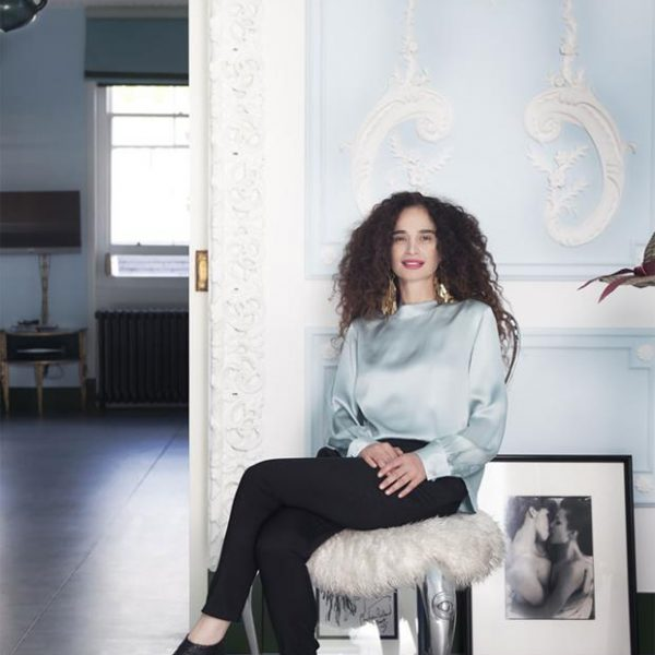 A designer de origem libanesa Danielle Moudaber.