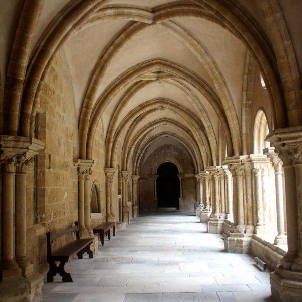 O claustro.