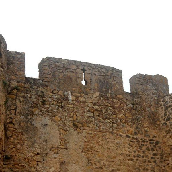 O capricho também na muralha.