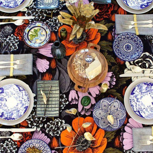 Orientalismo em azul.
