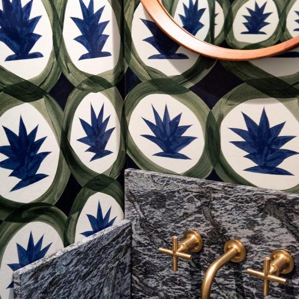 Papel de parede Hermès.