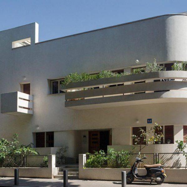 Avraham Soskin House, projeto de Zeev Rechter, em Tel Aviv.