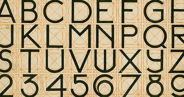 Alfabeto & números.