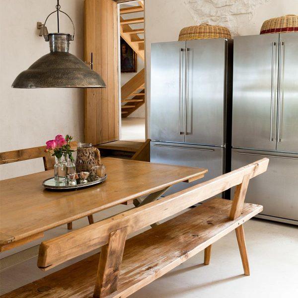 Em casas de campo normalmente as esquinas são distantes, então o ideal é investir em geladeiras e despensa sempre lotadas.