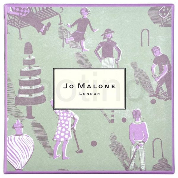 A padronagem para Jo Malone, disponível para download no site da marca. Link no final do post.