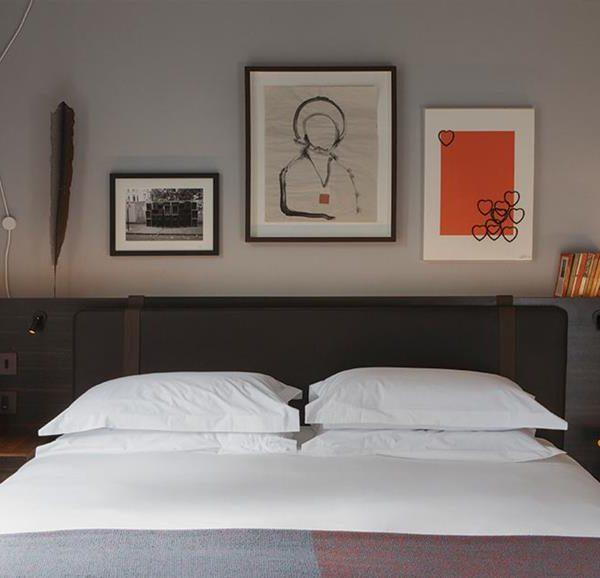 Os quartos convidam ao descanso, influenciado sempre por um bom projeto de decoração