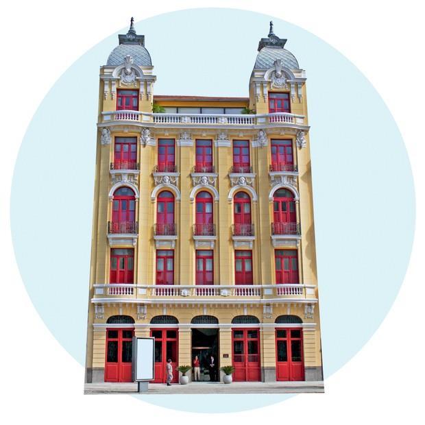 Fachada do 55/Rio Hotel