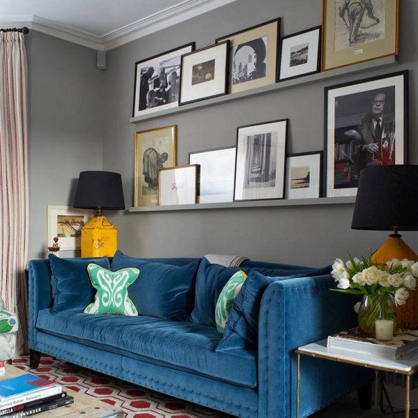 """O tapete traz um elemento de desconstrução de uma decoração mais """"certinha"""", e por isso mesmo ficou tão bom!"""