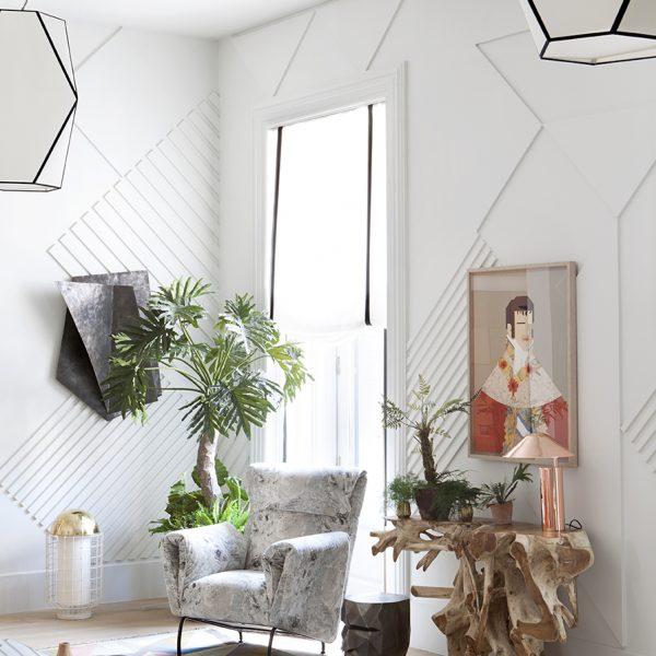 A geometria dá o tom na decoração de Erico Navazo