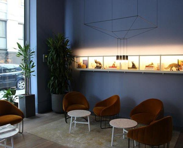 O lounge do Leman Locke na capital inglesa