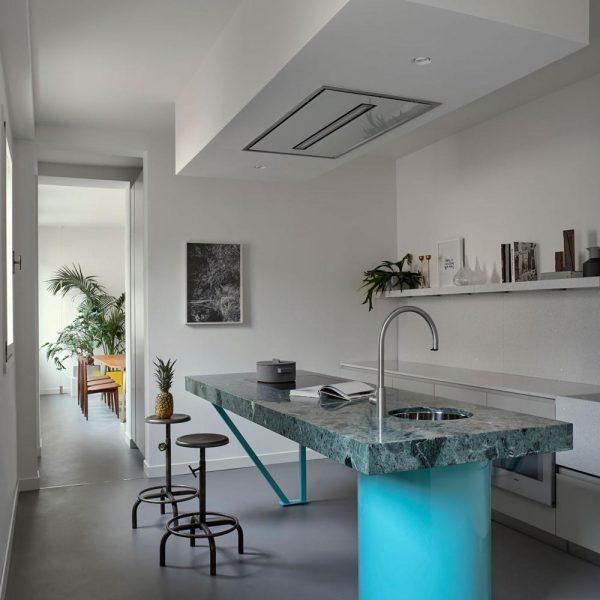 A cozinha, linda!