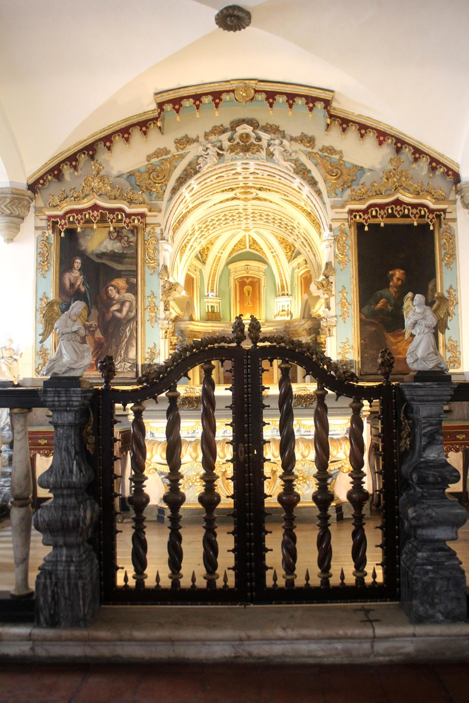 Capela do Senhor dos Passos, antiga Casa do Capítulo, em Évora