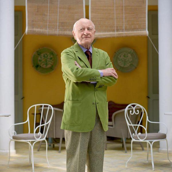 O elegante Pierre Bergé