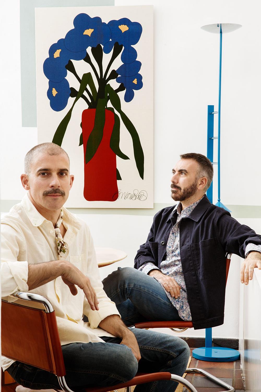A dupla Pablo López e Íñigo Aragón